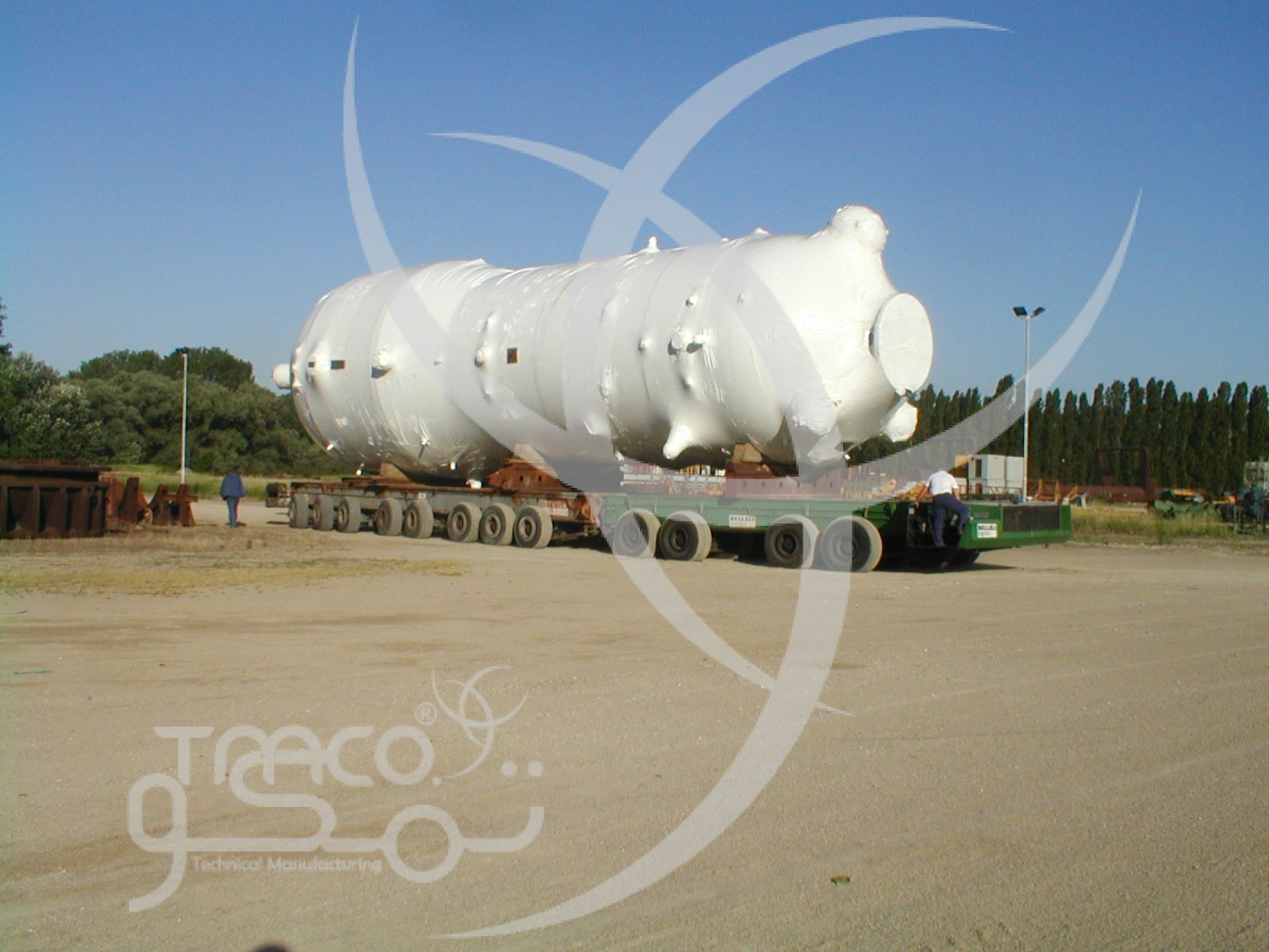 Shipment of Steam Generator-Nuclear Power Plant